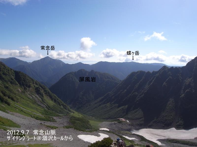 初秋の常念山脈1 ~蝶ヶ岳篇~: ...